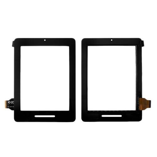 Сенсорное стекло, тачскрин для планшета Ritmix RMD-830, Onda Vi30, 8 800x600. PN: DPT 300-L3610A-A00-V1.0. Черный.