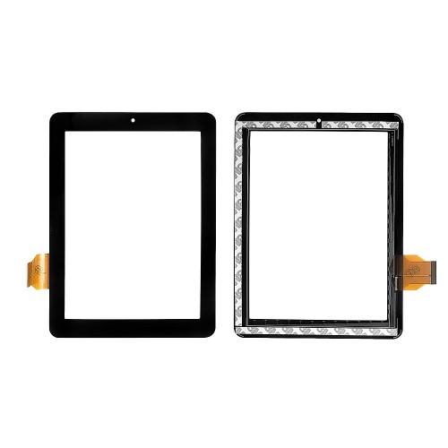 Сенсорное стекло, тачскрин для планшета teXet TM-8041 HD, Onda V801, V811, V812, 8 1024x768. PN: DPT 300-L3759A. Черный.