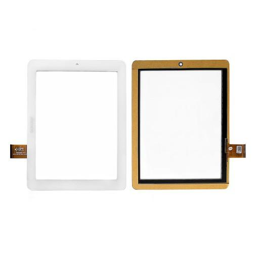Сенсорное стекло, тачскрин для планшета Archos, Onda, 8 1024x768. PN: DPT M809Q9 300-L4315A-A00-V1.0. Белый.