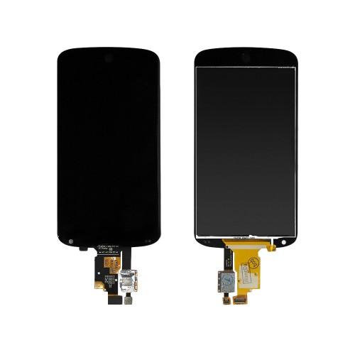 Дисплей, матрица и тачскрин для смартфона LG Nexus 4, 4.7 768x1280, A+. Черный.