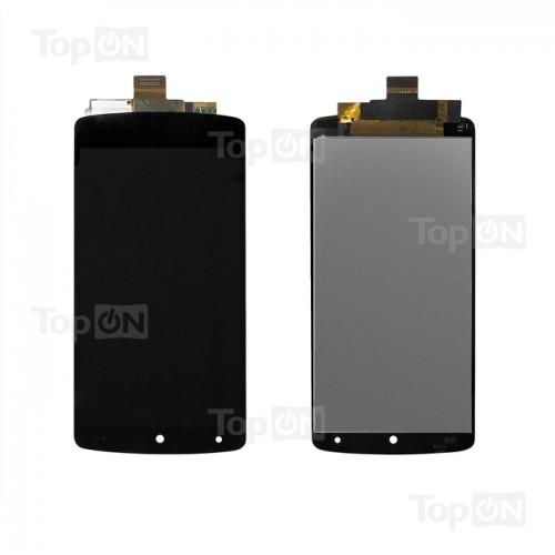 Матрица и тачскрин (сенс. стекло) в сборе для смартфона Nexus 5, дисплей 4.95