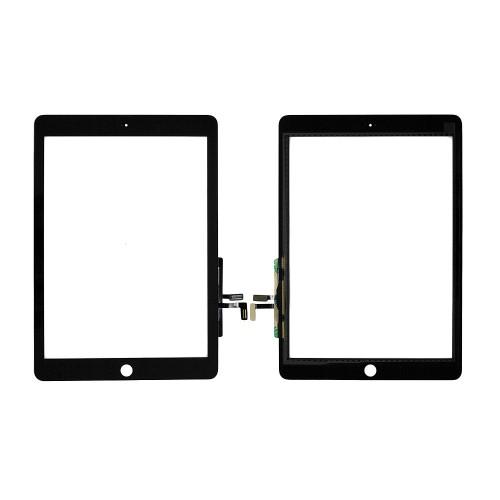 Сенсорное стекло, тачскрин для планшета Apple iPad 5, iPad Air, 9.7 2048x1536 A+. Черный.