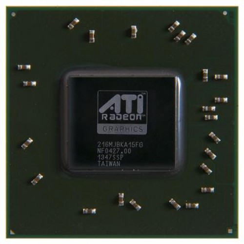 Видеочип AMD Mobility Radeon HD 2600, 216MJBKA15FG (2007)