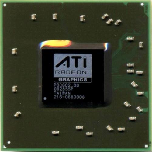 Видеочип AMD Mobility Radeon HD 3650, 216-0683008 (2010)