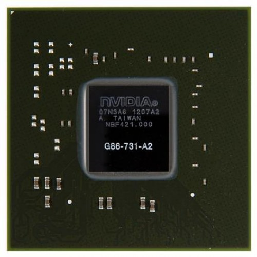 Видеочип nVidia GeForce 8400M GS, G86-731-A2 (2011)
