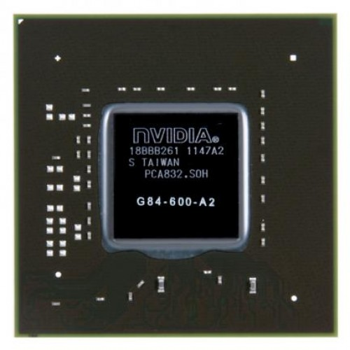 Видеочип nVidia GeForce 8600M GT, G84-600-A2 (2012)