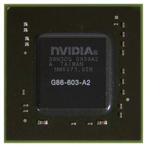 Видеочип nVidia GeForce 8400M GT, G86-603-A2, BGA (2010)