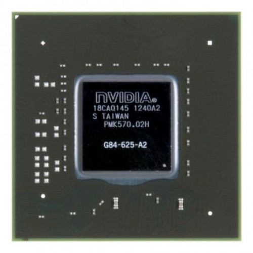 Видеочип nVidia GeForce 9500M GS, G84-625-A2 (2012)