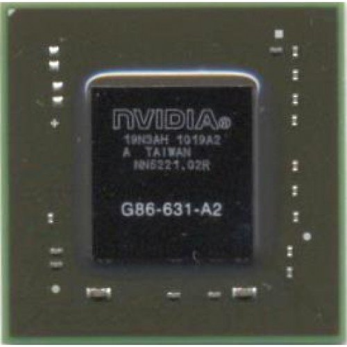 Видеочип nVidia GeForce 8400M GS, G86-631-A2 (2012)