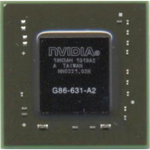Видеочип nVidia GeForce 8400M GS, G86-631-A2 (2012)